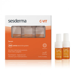 SESDERMA C-VIT Serum – Cыворотка реактивирующая, 5 шт по 7 мл