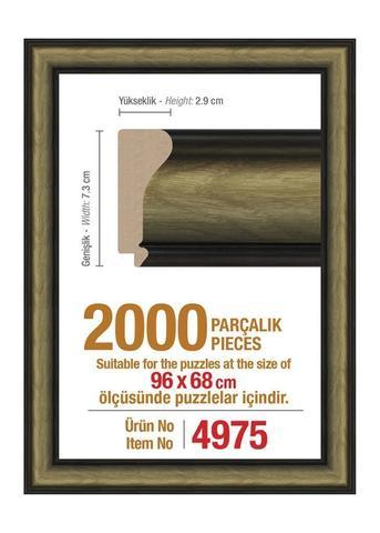 Pazl çərçivəsi (96 x 68 cm.) 4975