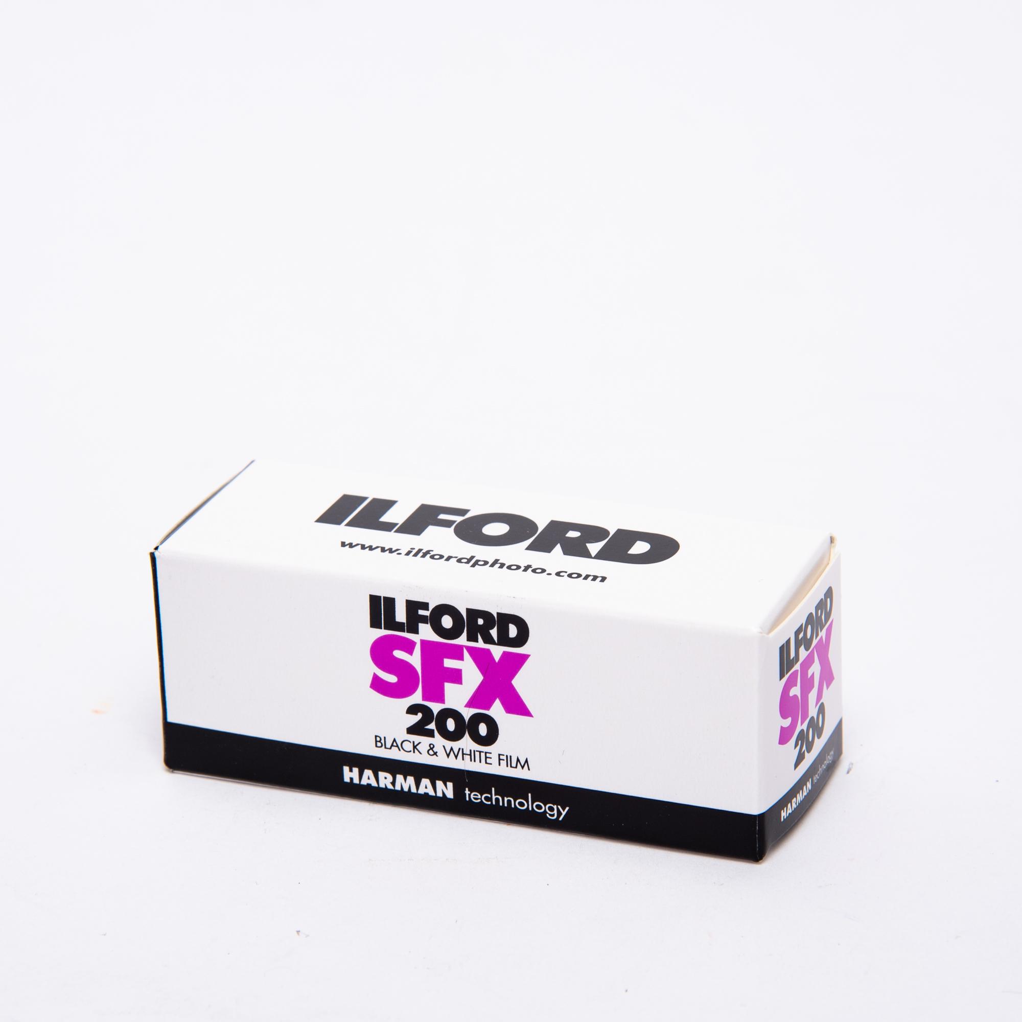 Фотопленка Ilford SFX 200/120
