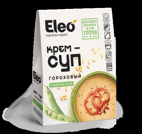 Крем-суп гороховый с кедровой мукой