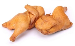 Полутушка куриная копчено-вареная