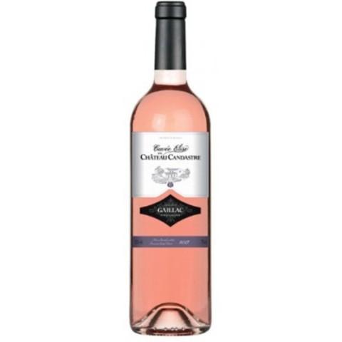 Вино Шато Кандастр Кюве Элиз защ. наим. розовое сухое 0,75 л  11,5% Франция