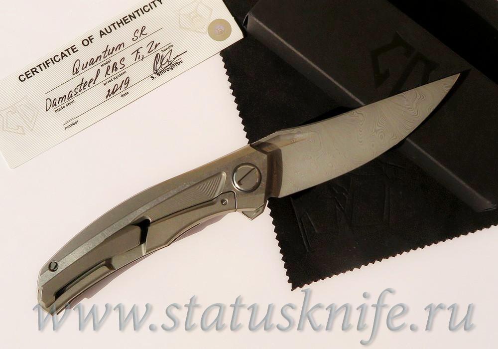 Нож Широгоров Quantum Damasteel Sprint Run Limited - фотография
