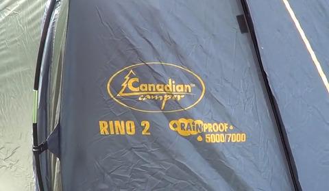 Палатка Canadian Camper RINO 2, цвет forest