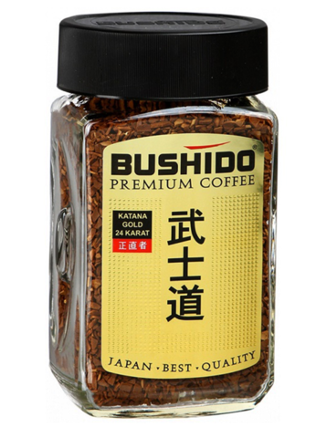 Кофе Bushido premium 100 гр.