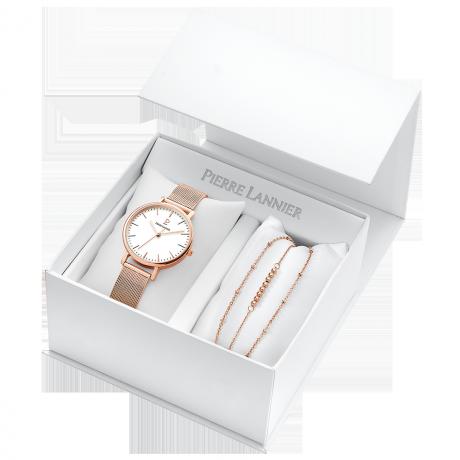 Женские часы Pierre Lannier Symphony + браслет 396C918