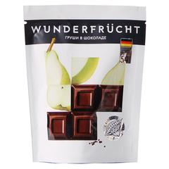 WunderFrucht Конфеты Груша в темном шоколаде 54%  75 г