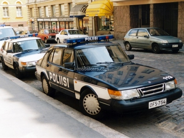 Details about  /DeAgostini PCW072 1//43 SAAB 900 Turbo Finland Police cars of the World #72