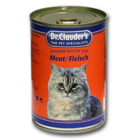 Др.Клаудер кон.д/кошек Кусочки в соусе Говядина (мясо) 415гр*20