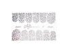 Фольга  для дизайна ногтей цвет серебро 6 купить за 120руб
