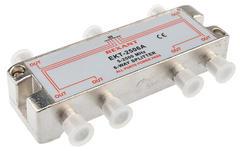 Разветвитель на 6 ТВ сигнала Rexant ekt-2506A (спутниковый с проходом по питанию 5-2500Mhz)