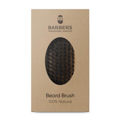 Щітка для бороди Barbers Bristle Beard Brush (3)