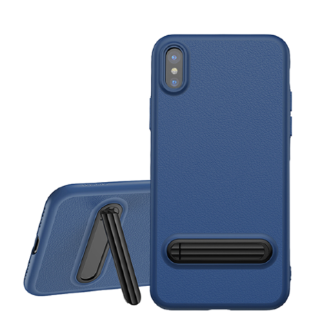 Baseus / Чехол Baseus Happy Watching Case для iPhone X/Xs | Синий