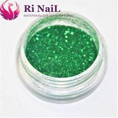 Дизайн для ногтей зеленый.