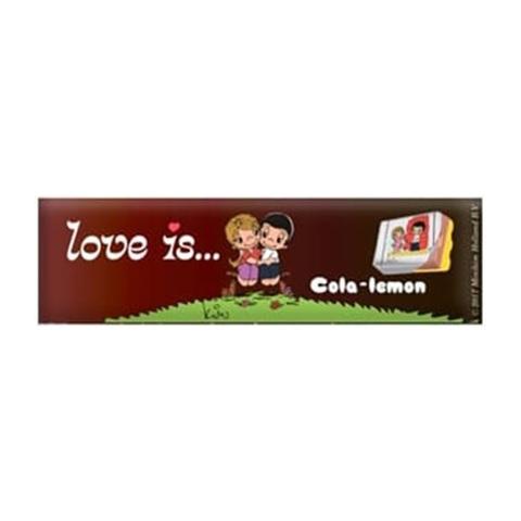 LOVE IS (В) жевательные конфеты Кола-Лимон 1кор*18бл*12шт, 25г