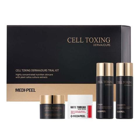 Набор средств для ухода за кожей со стволовыми клетками MEDI-PEEL Cell Toxing 30мл,30мл,10г,10г