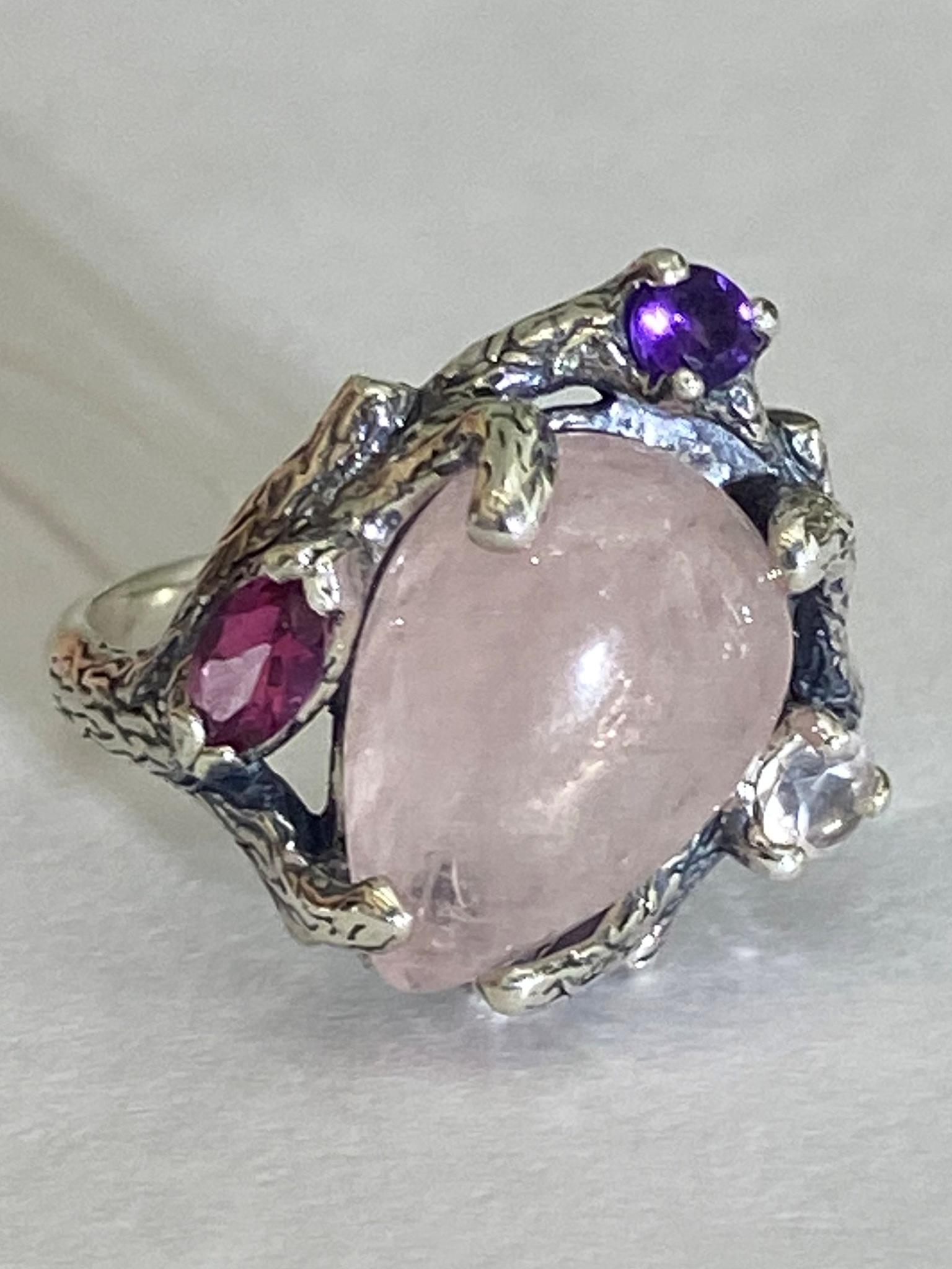 Тамарикс (кольцо из серебра)