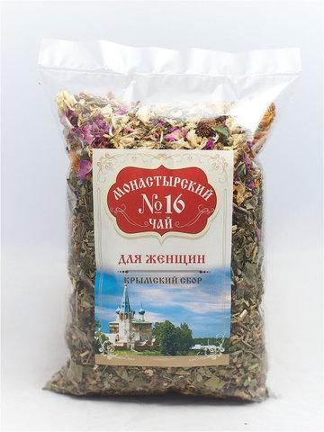 Чай Монастырский №16 для женщин, 100 гр. (Крымский сбор)