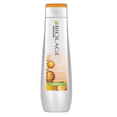 Matrix Biolage Oil Renew: Шампунь для сухих, пористых волос с натуральным маслом сои (Oil Renew Shampoo), 250мл/1л