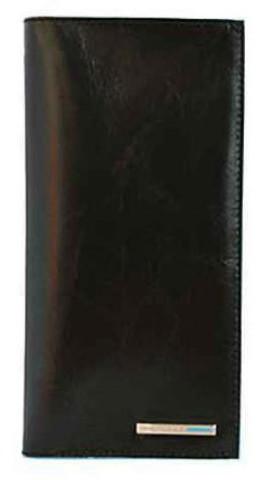 Портмоне Piquadro Blue Square, черное, 18х9,5х1 см