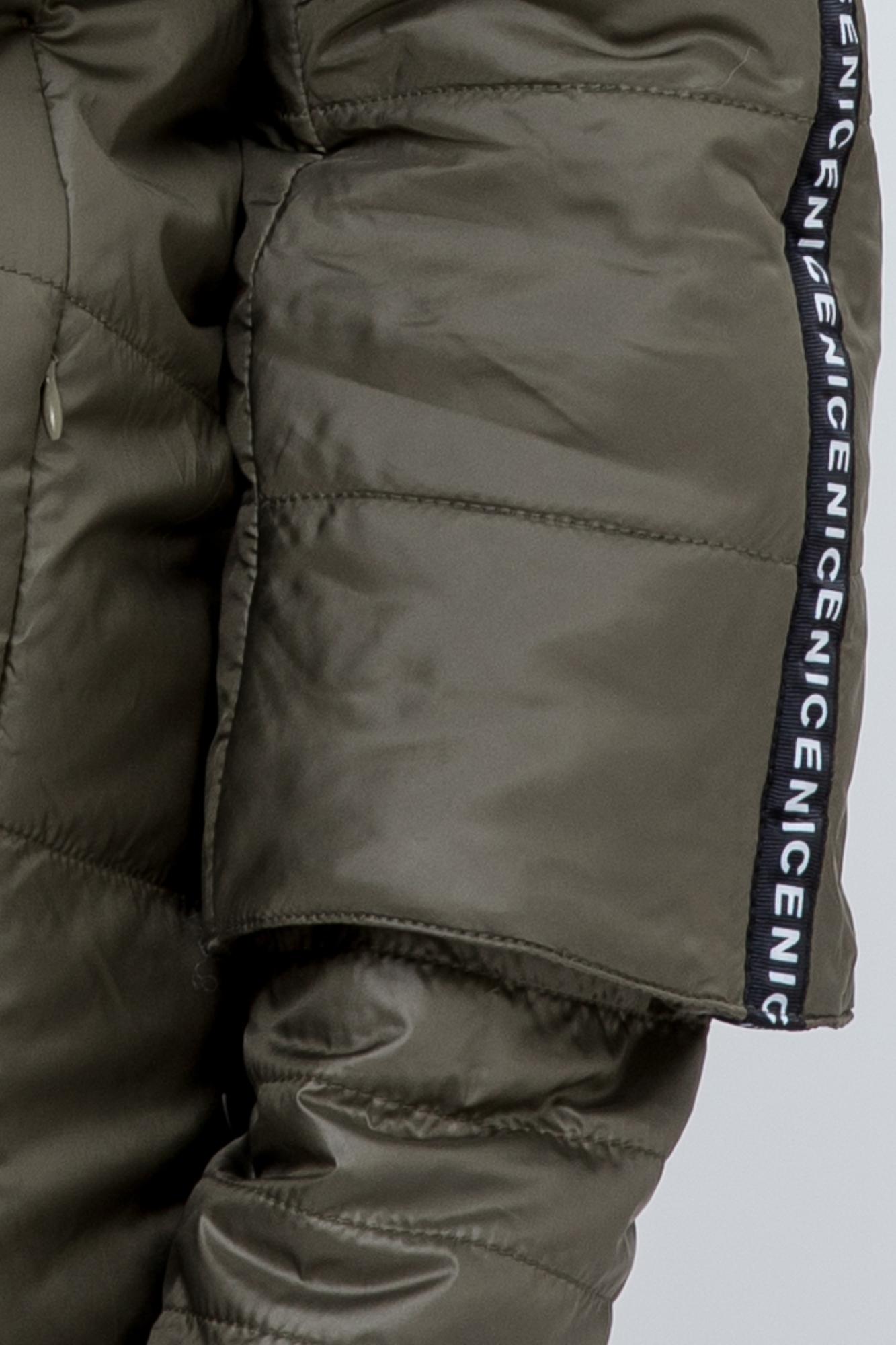Куртка для беременных 09525 хаки
