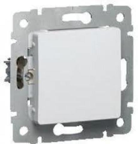 Выключатель одноклавишный - 10 AX - 250 В~. Цвет Белый. Legrand Cariva (Легранд Карива). 773656