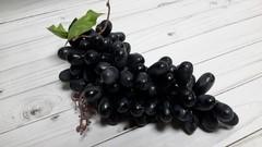 Виноград искусственный, гроздь 100 ягод, 20 см, 1 шт.
