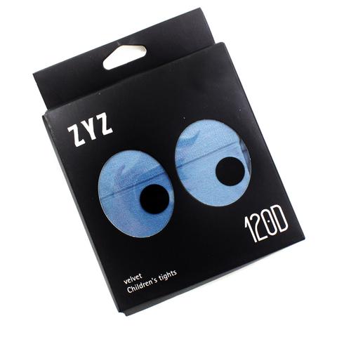 Колготки Micro VELVET 120D Голубые Рост 135 см - 147 см (9-12 лет)