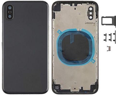 Корпус, крышка, задняя часть iPhone XS(серебро/черный/золото)