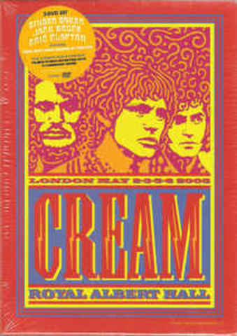 CREAM: Royal Albert Hall London May 2-3-5-6 2005
