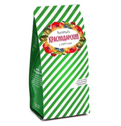 Чай Краснодарский зеленый отборный, 75 гр. (Мацестинская ЧФ)