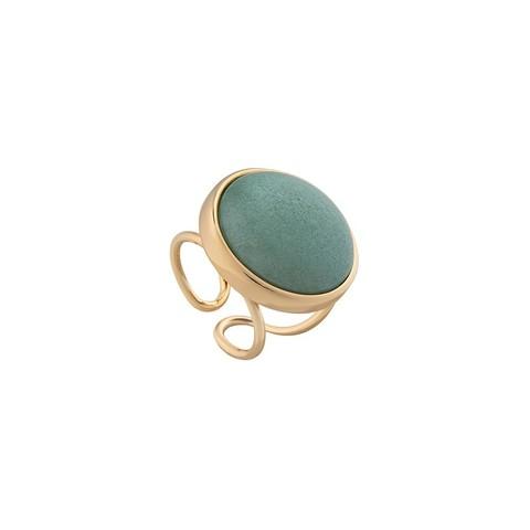 Кольцо Pearl Green Quartz 16.5 мм K0948.16 G/G