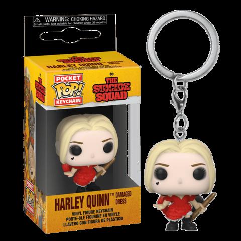 Funko Pocket POP! Keychain DC The Suicide Squad Harley (Damaged Dress)