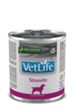 Farmina Vet Life Natural Diet Dog Struvite Консервы для собак для лечения и профилактики рецидивов струвитного уролитиаза 6х300 гр.