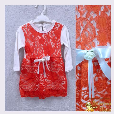 Платье девочке (74-92) 201130-OF4441