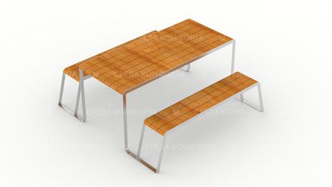 Скамейка со столом SCAM0234