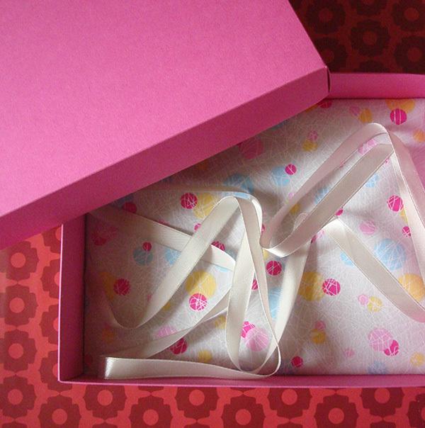 Подарочная коробка Геометрия
