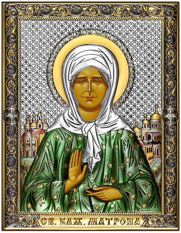 Икона Святая Матрона Московская (18х14см)