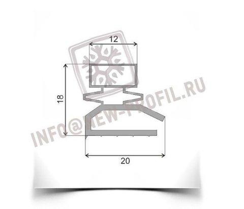 Уплотнитель для холодильника Тамбов ДХ125 (овальный) Размер 2350*580 мм (013)