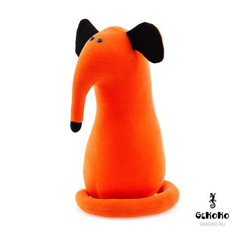 Подушка-игрушка антистресс Gekoko «Крыс повелитель Кис», рыжий 2