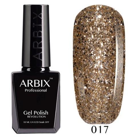 Гель-лак Arbix Золотая Антилопа  №017