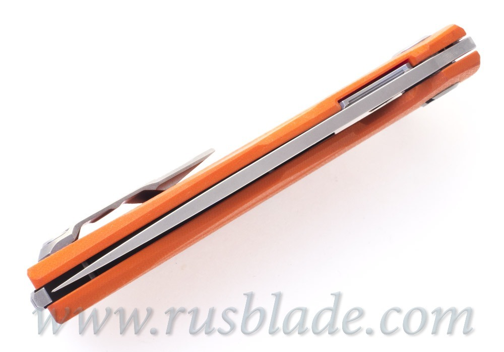 Shirogorov 111 Blade Show Orange Exclusive - фотография