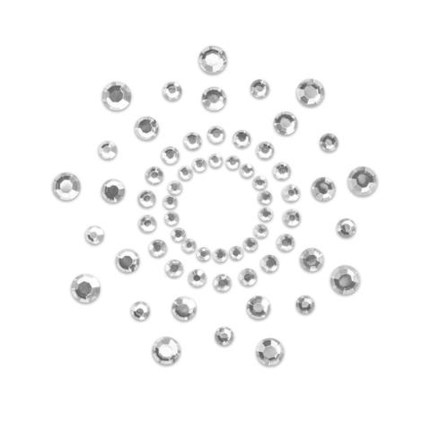 Bijoux Indiscrets Украшение на грудь MIMI серебряный