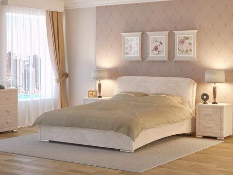 Кровать двуспальная Nuvola 4 (Нувола 4) Лофти Лен