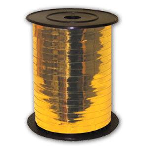 Лента Металлизированная 250м Золотая