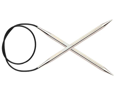 Спицы KnitPro Nova Cubics круговые 5 мм/40 см 12159