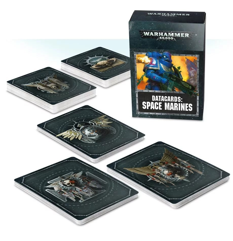 Datacards: Space Marines 2019