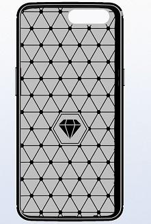 Чехол для OnePlus 5 цвет Black (черный), серия Carbon от Caseport