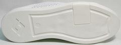 Летние сникерсы туфли с белой подошвой женские ZiKo KPP2 Wite.