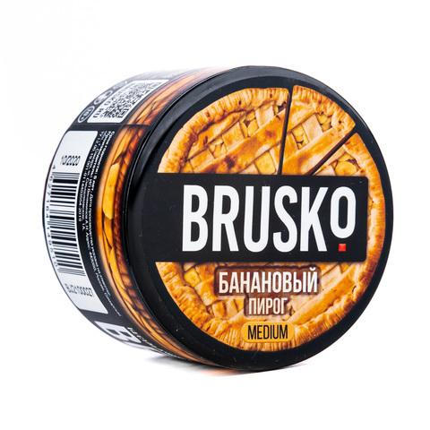 Кальянная смесь BRUSKO 50 г Банановый Пирог